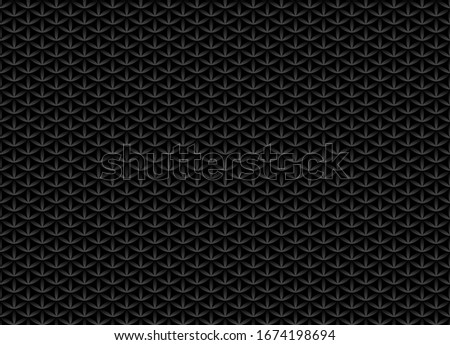 Bezszwowy tom czarny wzór kwiat życia Zdjęcia stock © Iaroslava
