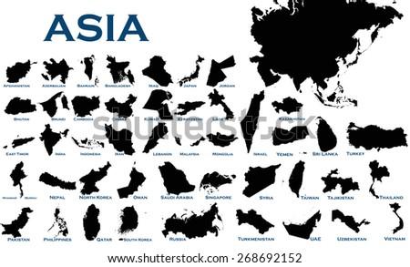 Rusland land silhouet vlag geïsoleerd witte Stockfoto © evgeny89