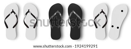 sandals on a beach Stock photo © smithore
