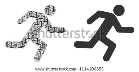 Digital body running in a direction Stock photo © wavebreak_media