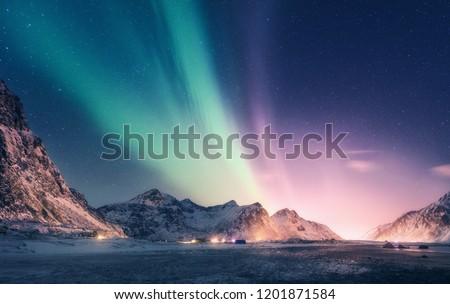 建物 緑 山 空 雲 建物 ストックフォト © zzve