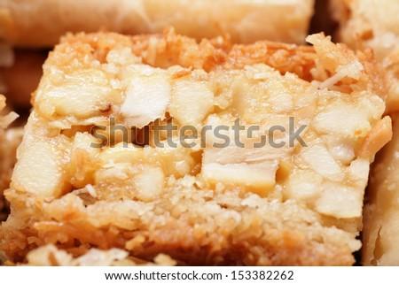 Macro shot of a delicious arabic desert baklava.  Is made of fil Stock photo © dacasdo
