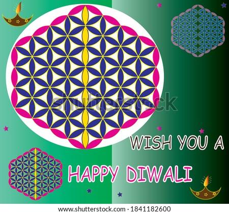 Beautiful creative Art colorful diwali rangoli ornament Pattern  Stock photo © bharat
