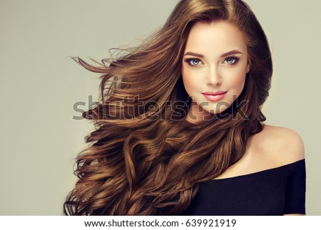 Brown-haired woman  beauty Stock photo © photography33
