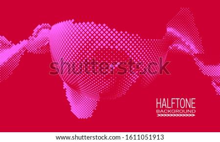 сфере квадратный множественный розовый красный пурпурный Сток-фото © Melvin07