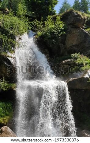 Pejo, Covel waterfall Stock photo © Antonio-S