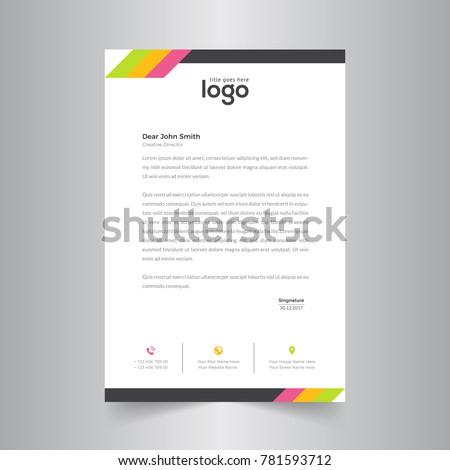 Stok fotoğraf: Soyut · renkli · şablon · vektör · dizayn