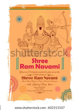 Baran festiwalu Indie plakat ilustracja indian Zdjęcia stock © vectomart