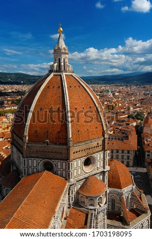 FLORENCE Italie vue mur architecture Photo stock © boggy