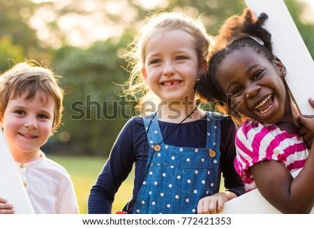 feliz · recreio · criança · diversão - foto stock © lopolo