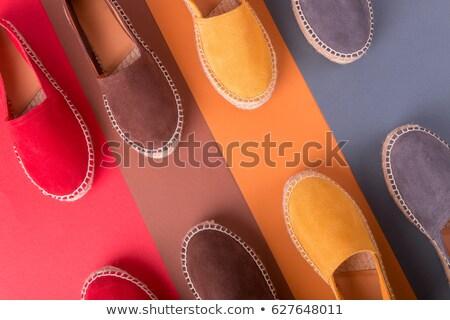Quattro coppia top view design scarpe Foto d'archivio © Illia