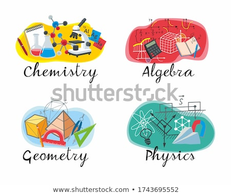 Chemistry Subject in School, University Discipline Stock photo © robuart