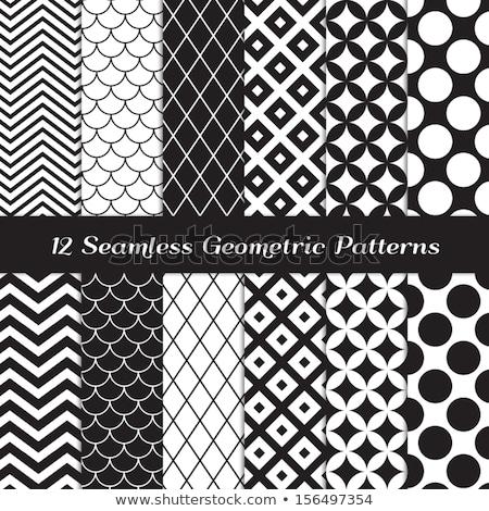Quatrefoil seamless line vector pattern. Stock photo © yopixart