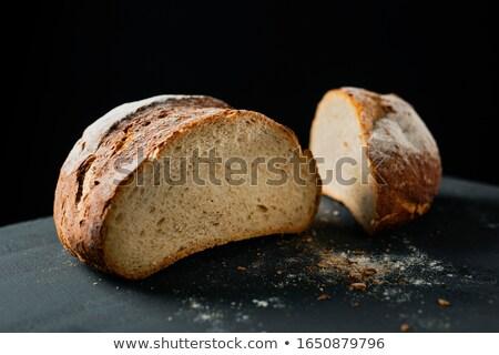 Pan Brot charakteristisch Spanien dunkel grünen Stock foto © nito