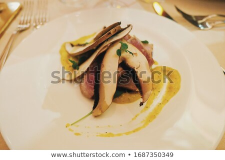 Italian high-end cuisine and fine dining, delicious meal on a plate in a luxury restaurant in Milan, Stock photo © Anneleven