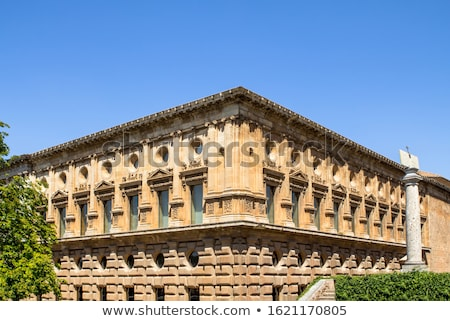 Palace of Charles V, Alhambra, Granada, Andalusia, Spain Stock photo © flariv