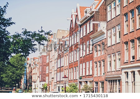 основной центра улице город центр Амстердам Сток-фото © Anneleven