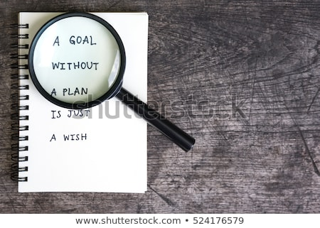 Magnifying Glass - Motivation Stock photo © kbuntu