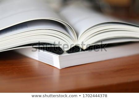 boeken · literatuur · foto · kantoor · school - stockfoto © mastergarry