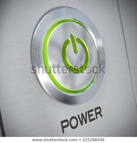 button green chrome save stock photo © dariusl