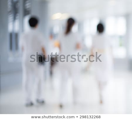 hospital staff sitting in a row stock photo © get4net