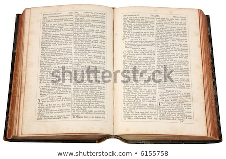 An old bible published in 1868. Stock photo © latent
