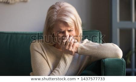 Old lady crying Stock photo © photography33