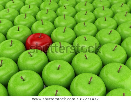 Abstract background with motley fresh apples Stock photo © boroda
