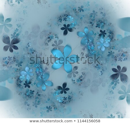 Abstract floral fractal Stock photo © IMaster