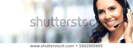Receptionist answering the telephone stock photo © photography33