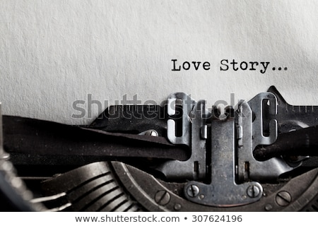 Vintage Love Stories stock photo © 3mc