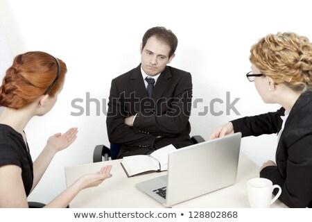 Unimpressed businesswoman Stock photo © photography33