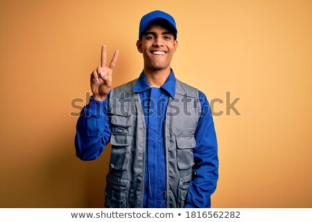 Repairman Winking Stock photo © lisafx