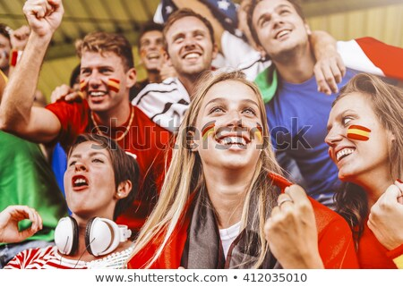 Enthusiastic Spain supporter Stock photo © photography33