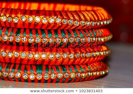 Orange Sari Stock photo © RachelD32