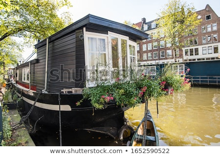 Houses and boats Stock photo © Antonio-S