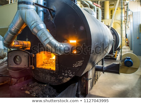 wood pellets as ecological and economical heating Stock photo © jirkaejc