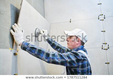 A tiler. Stock photo © photography33