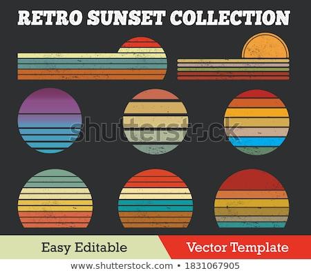 retro · sfondo · wallpaper · pattern - foto d'archivio © kjpargeter