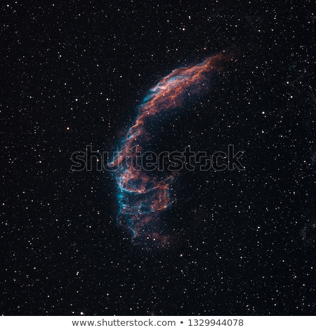 NGC6992 Veil Nebula Stock photo © rwittich