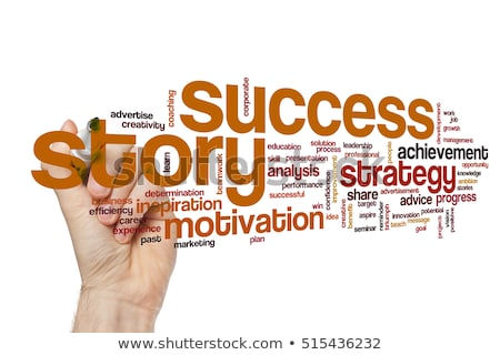 story of success concept stock photo © ansonstock