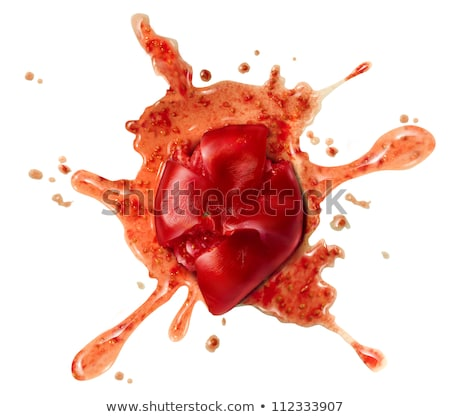 Splattered Tomato Stock photo © Lightsource
