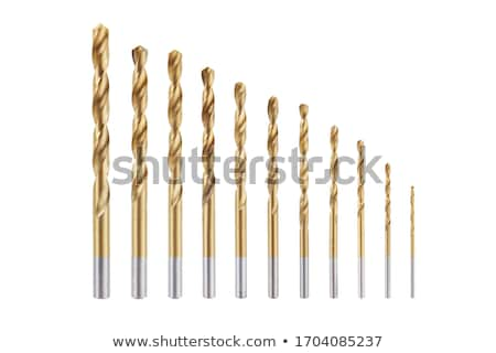 golden drill bit Stock photo © Grazvydas