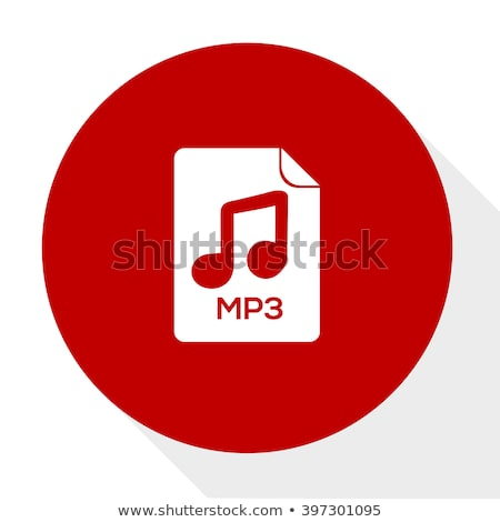 Vector icono mp3 Foto stock © zzve