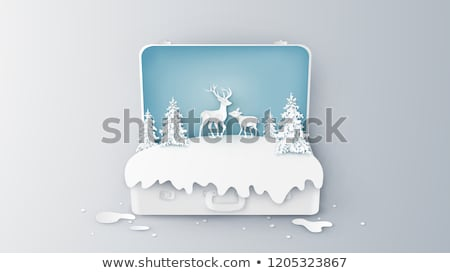 The Tiergarten in winter Stock photo © elxeneize