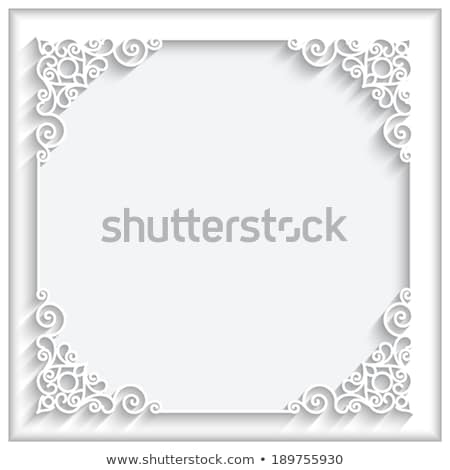 Swirly Vector Layout Stock photo © ArenaCreative