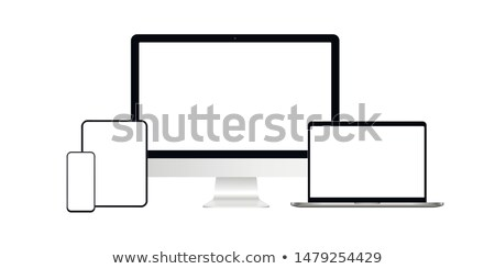 Digital Tablet PC front Stock photo © ABBPhoto