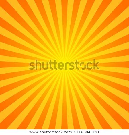 culoare · razele · multe · stele · soare - imagine de stoc © beholdereye