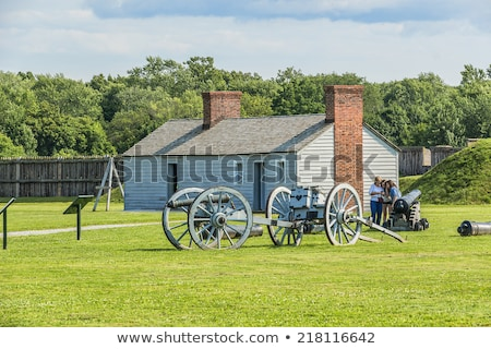 Fort George National Historic Site Stock photo © cmeder