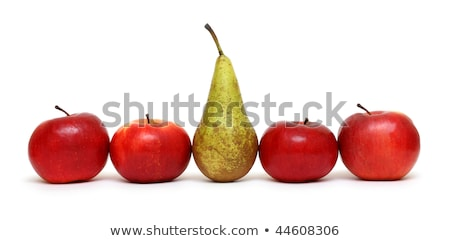 different   pear between green apples stock photo © mikko
